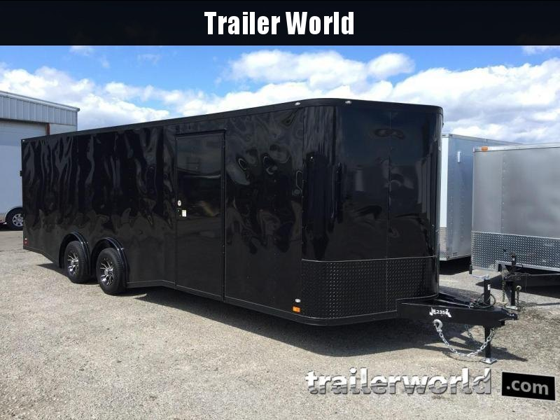 2017 CW 24' Spread Axle Car Black Out Trailer 10k GVWR