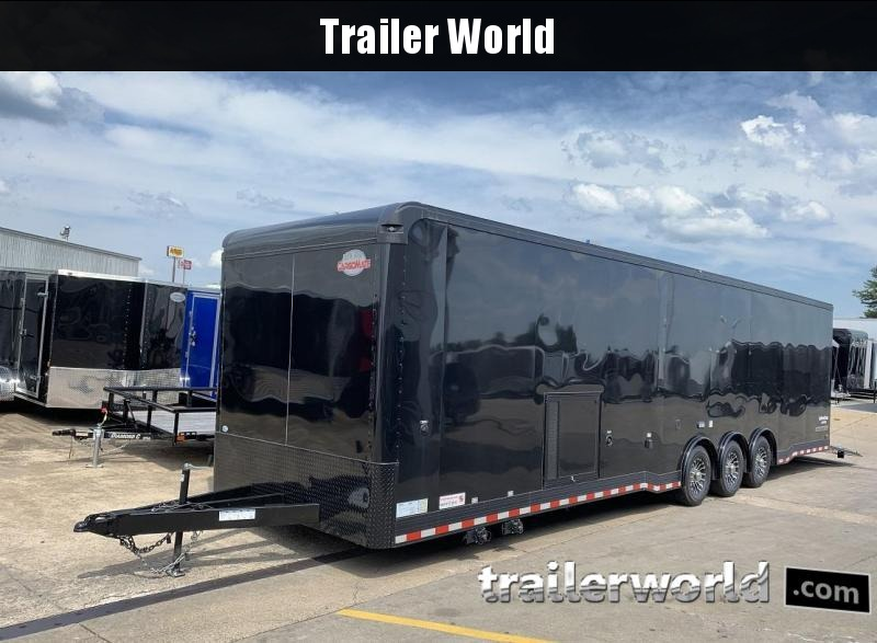 2020 Cargo Mate Eliminator 34' Race Trailer Bath Pkg