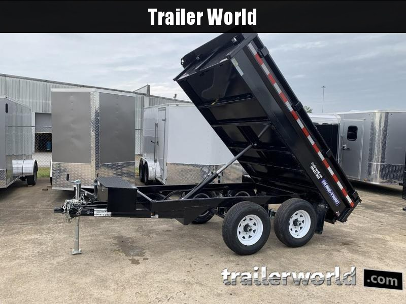 2019 Sure-Trac SD Deckover 6' x 10' Dump Trailer 10k GVWR