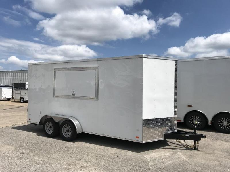 2018 CW 7' x 16' x 7' Vending Trailer