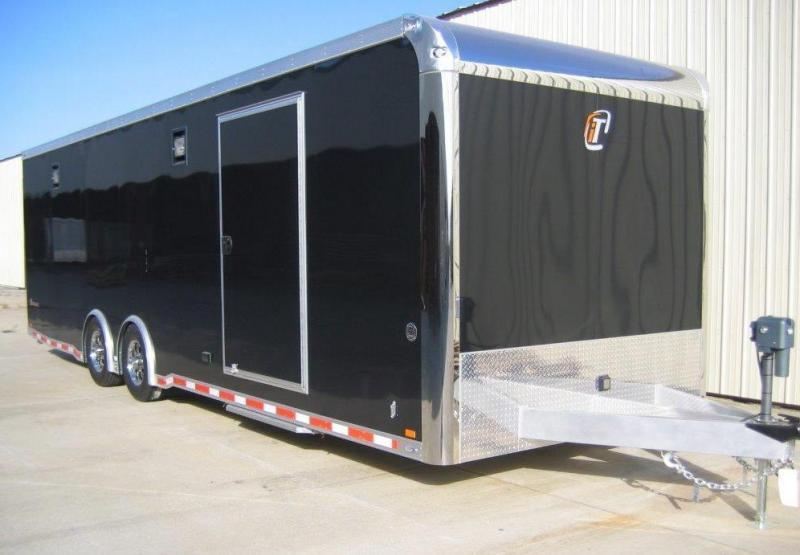 2014 inTech Trailers 28' iCon Aluminum Race Trailer