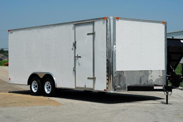 2014 Lark 20' Enclosed Car Trailer 7k GVWR
