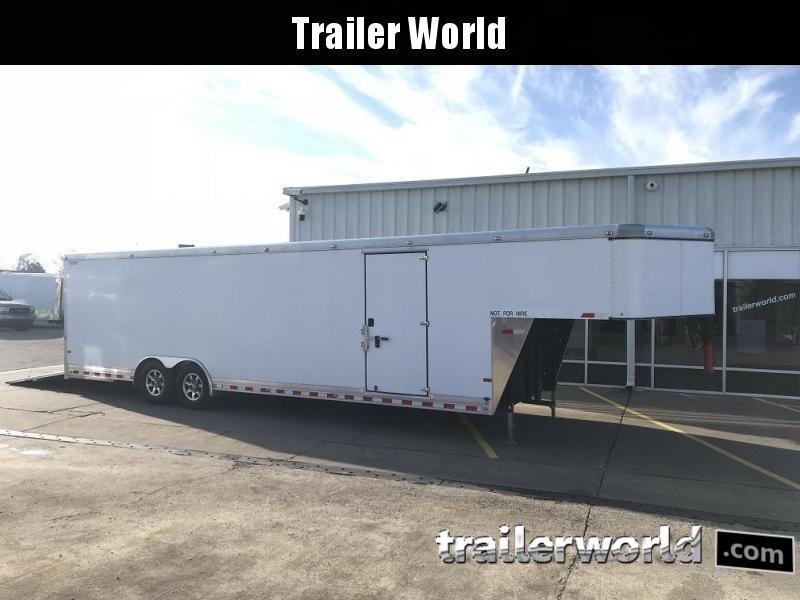 2015 Sundowner 36' Aluminum Gooseneck Enclosed Car Trailer