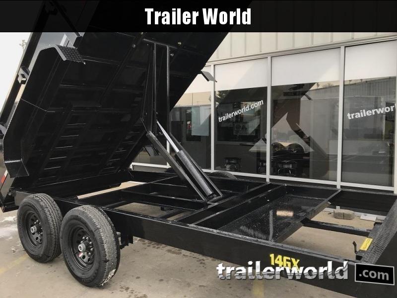 2019 Big Tex Trailers 14GX-16' Gooseneck Dump Trailer