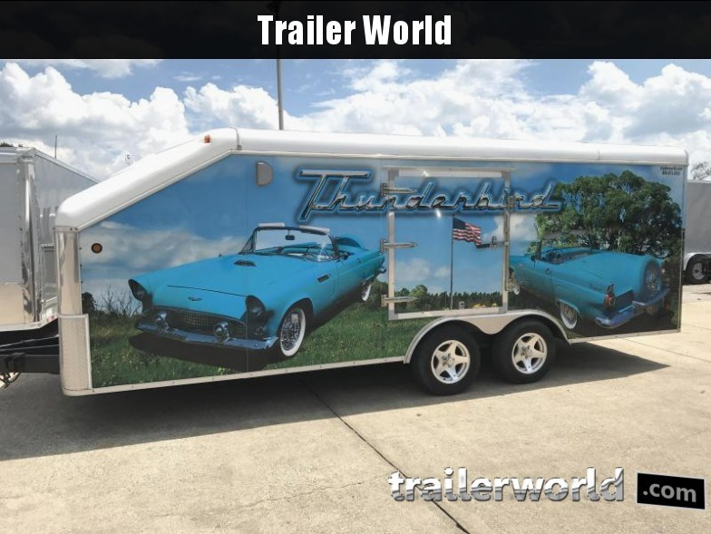 2009 United 20' Slope Nose Show Car Trailer