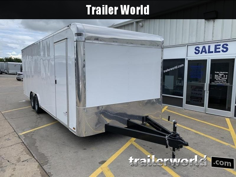 2020 Anvil 24 Enclosed Car / Racing Trailer