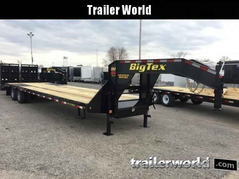 2018 Big Tex Trailers 22GN-30