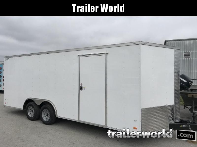 2019 CW 20' Enclosed Car Trailer 7k GVWR