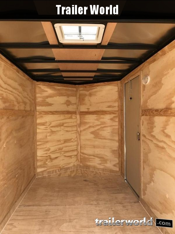 2019 CW 6' x 12' x 6' Vnose Enclosed Trailer Ramp Door