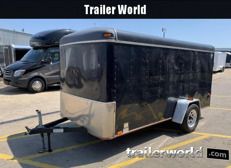 1997 United Trailers 6x12 Enclosed Enclosed Cargo Trailer