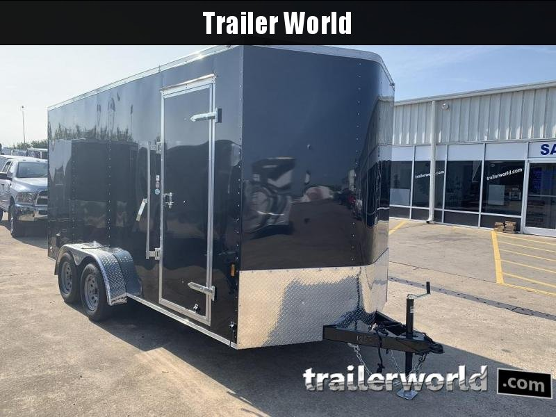 "2020 Continental Cargo 7' x 16' x 7'4"" Vnose Enclosed Cargo Trailer"