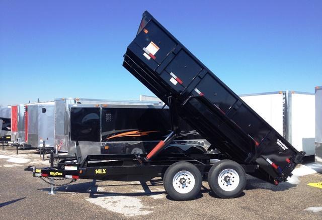 2015 Big Tex 14LX-14' Dump Trailer w/ TARP
