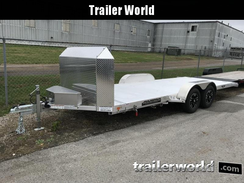 2019 Aluma 8218 Tilt Bed Open Car Hauler Trailer Anniversary Edition