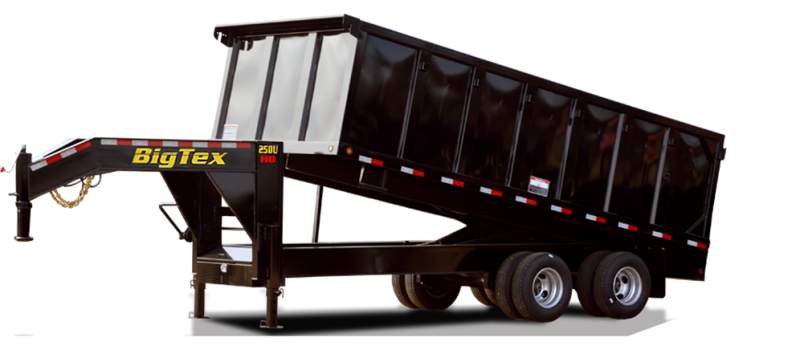 2015 Big Tex Trailers 25DU-20 Dump Trailer