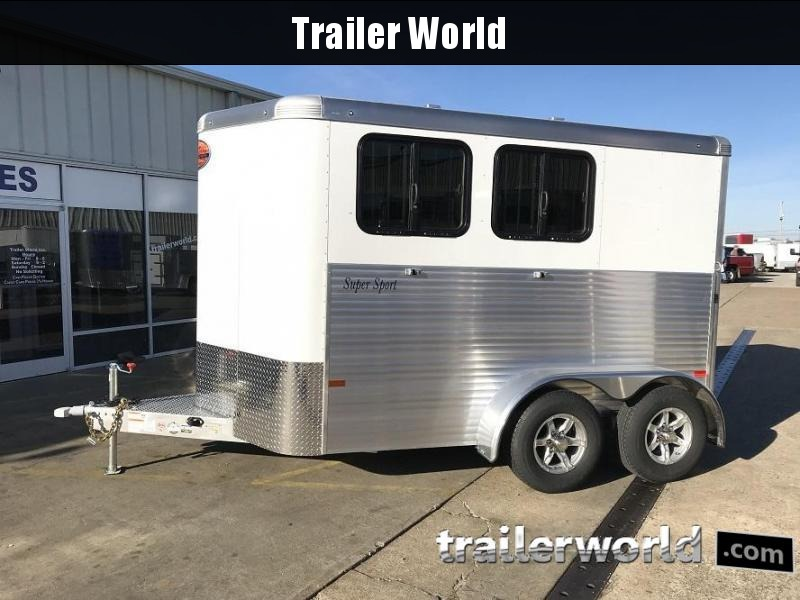 2018 Sundowner Super Sport 2 Horse Trailer