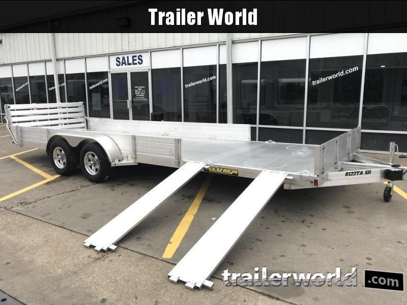 2020 Aluma 8122TA SR Utility ATV Trailer