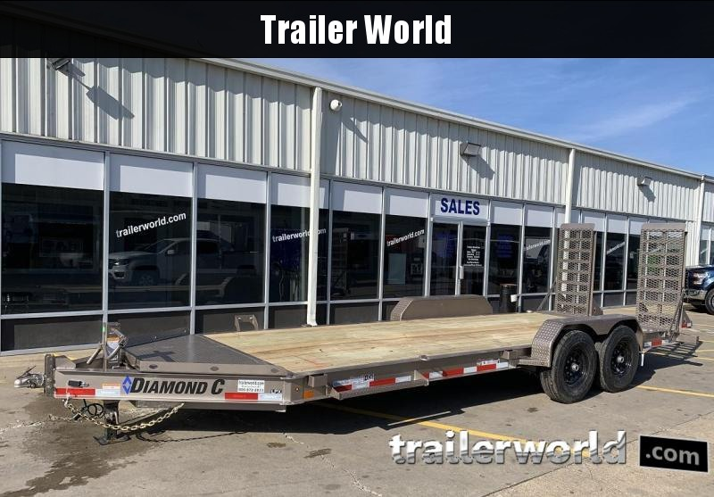 2019 Diamond C LPX 20' Equipment Trailer