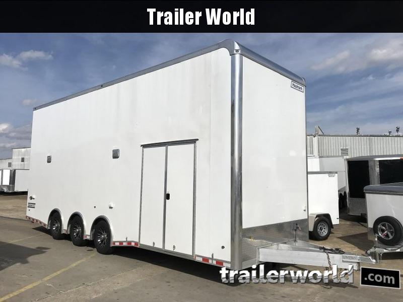 2020 Haulmark Aluminum 28' Stacker Race Trailer