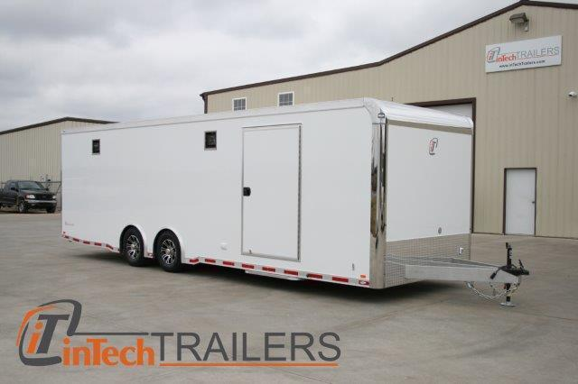 2015 inTech 28' iCon - All Aluminum Race Trailer