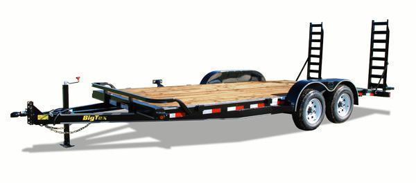 2015 Big Tex 10ET-20' Equipment Trailer 10K GVW