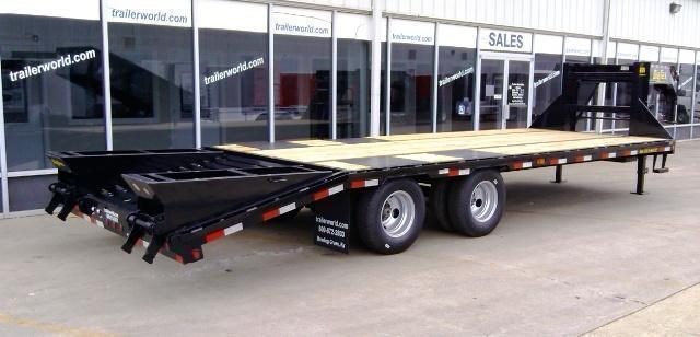 2015 Big Tex Trailers 22GN-20' + 5' Equipment Trailers