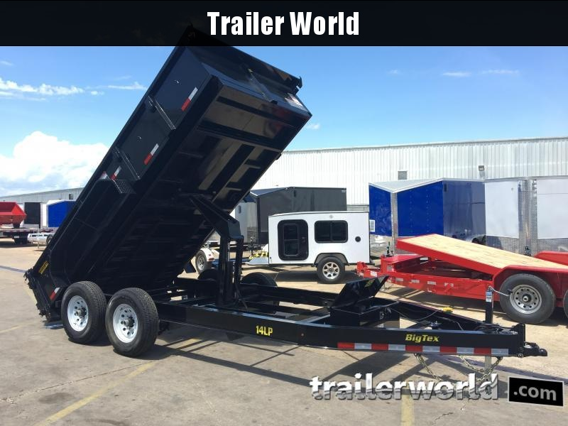2017 Big Tex Trailers 14LP-14