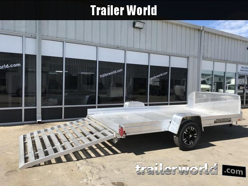 2019 *New Model* Aluma UTR12 Aluminum Utility Trailer 6.5