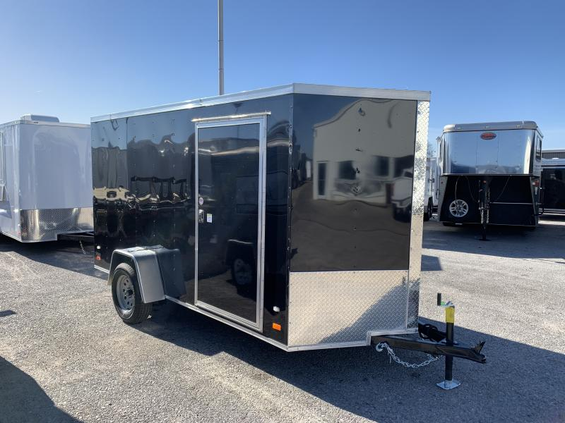 "2019 CW  6' x 12' x 6'3"" Vnose Enclosed Cargo Trailer"