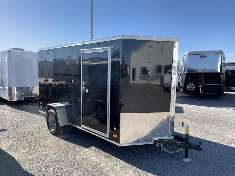 "2019 CW  6' x 12' x 6'3"" Vnose Enclosed Cargo Trailer"