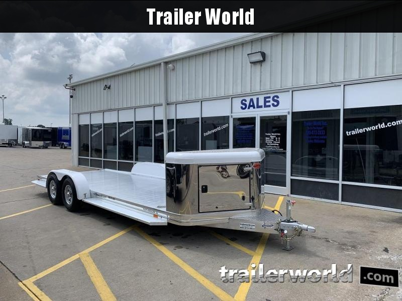 2018 Sundowner ULTRA 22'  Aluminum Open Car Hauler Trailer