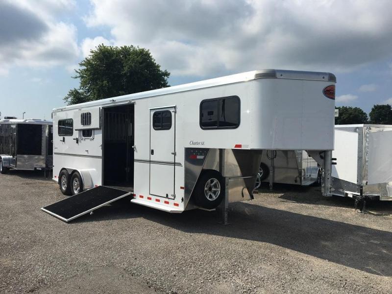 2017 Sundowner Trailers Charter SE 2+1 Box Stall Horse Trailer