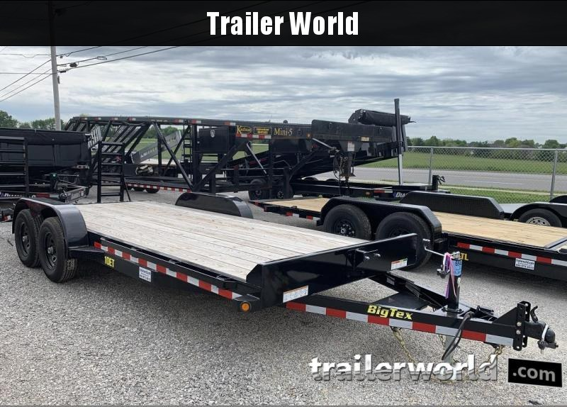 2019 Big Tex 10ET-20' Equipment Trailer 10K GVW