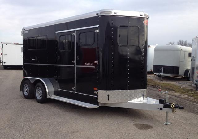 2014 Sundowner Charter SE 2 Horse Straight Load Trailer