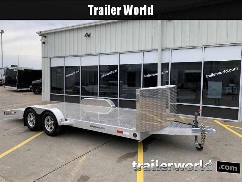 2009 Trailer World Aluminum Open Car 18' Trailer