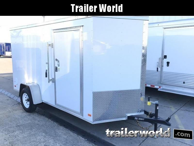 "2019 CW  6' x 10' x 6'3"" Vnose Enclosed Cargo Trailer"