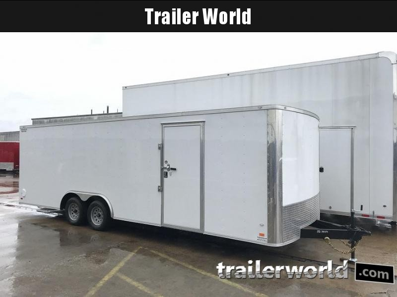 2018 CW 24' Enclosed Car Trailer 7k GVWR