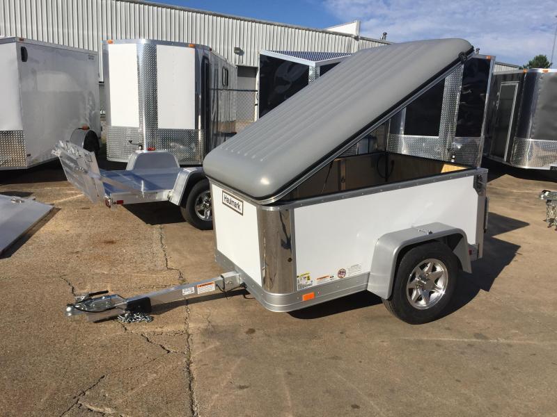 2015 Haulmark Flex 4' x 6' Enclosed Cargo Trailer