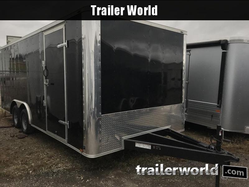 2019 Lark 8.5' x 20' Enclosed Car Trailer 7k GVWR