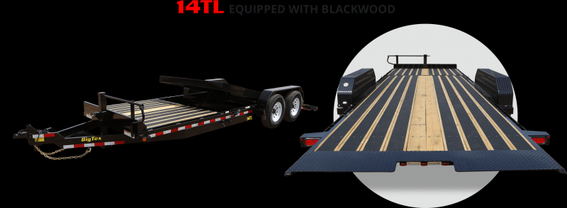 2017 Big Tex 14TL-22' 16' Tilt + 6' w/ Blackwood Equipment Trailers