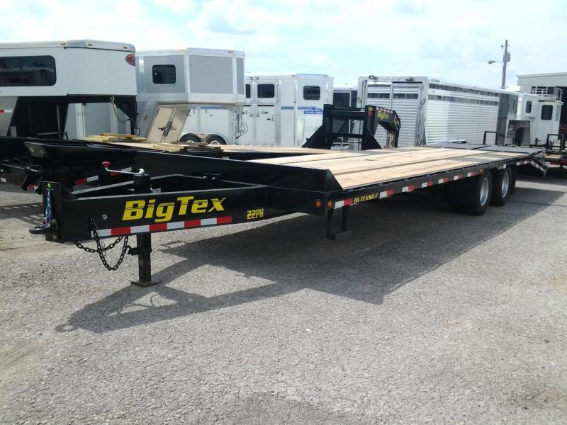 2014 Big Tex Trailers 22PH-25 + 5 Equipment Trailers MEGA Ramps