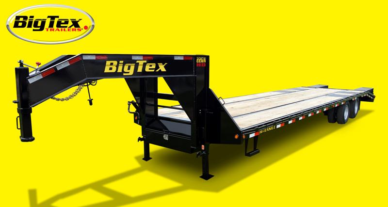 2015 Big Tex Trailers 22GN-30