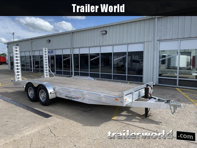 2019 American Hauler 20' Aluminum 14k Equipment Trailer