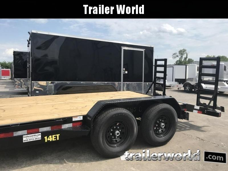 2020 Big Tex 14ET-18'  Flatbed Equipment Trailer  7 Ton