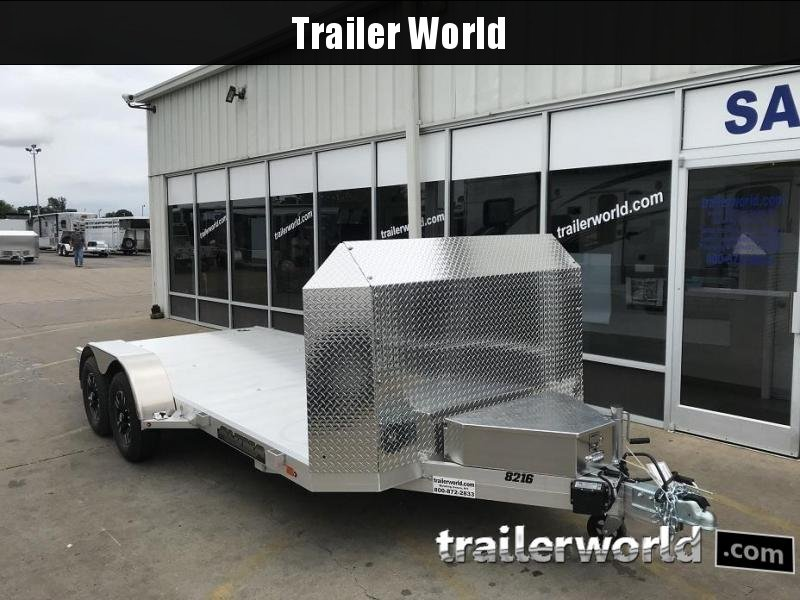 2019 Aluma 8216 Aluminum Open Car Trailer Anniversary Edition