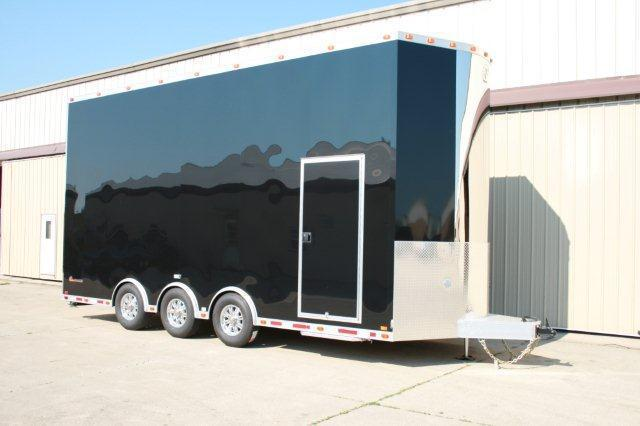 2012 inTech 22' Aluminum Stacker Enclosed Car Trailer