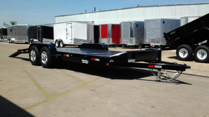 2014 Sure-Trac 20' Steel deck open car hauler Trailer