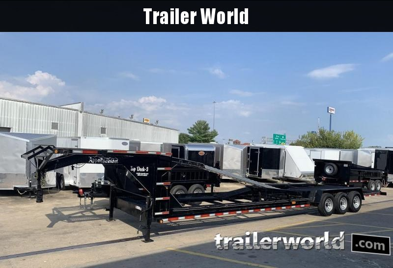 2019 Appalachian 3 Car Hauler Trailer