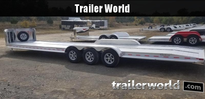 2019 Sundowner 36' Aluminum Open 2 Car Hauler Trailer