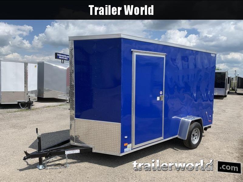 2019 CW 6' x 12' x 7' Vendor Vending / Concession Trailer
