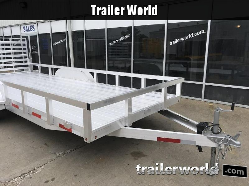 2019 Trailer World Aluminum 20' Utility Trailer